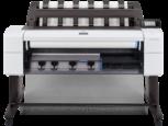 HP DesignJet T1600 front transparent